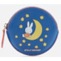 Strathberry X Miffy Women's Night Round Coin Purse - Cobalt
