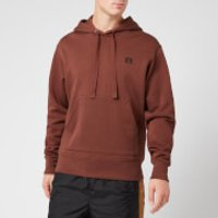 Acne Studios Men's Ferris Face Hoodie - Dark Brown - M