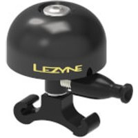 Lezyne Classis Brass Bell - BLACK/BLACK