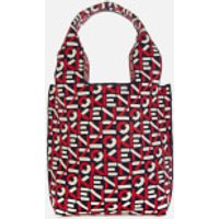 shop for KENZO Women's Recycled Monogram Small Tote Bag - Medium Red at Shopo
