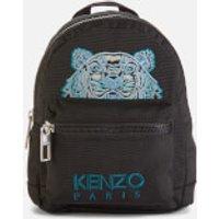 shop for KENZO Women's Kampus Canvas Mini Backpack - Black at Shopo