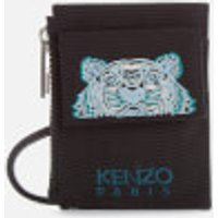 KENZO Kampus Canvas Cardholder on Strap - Black