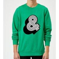 The Motivated Type Line Art & Sweatshirt - Kelly Green - XL - Kelly Green