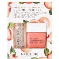 nails inc. Peach and Perky Top Coat Duo