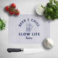Beer And Chill Chopping Board