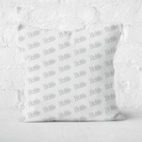 Home Square Cushion - 50x50cm - Soft Touch