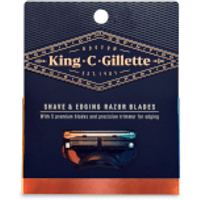 King C. Gillette Shave and Edging Razor Blades (3 Pack)