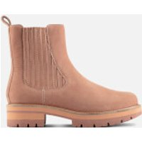 Clarks Women's Orianna Top Nubuck Chelsea Boots - Rose - UK 7