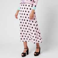 Olivia Rubin Women's Penelope Skirt - Black/Pink Polka Dot - US 8/UK 12