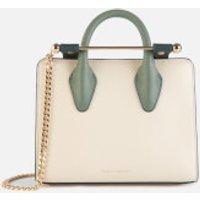 Strathberry Women's Nano Tote Bag - Vanilla/Bottle Green/Sage
