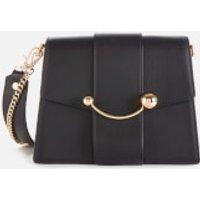 Strathberry Women's Box Crescent Bag - Black
