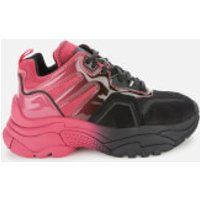 Ash Women's Active Chunky Trainers - Pink/Black - UK 5