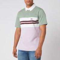 Levi's Men's Authentic Logo Rugby Polo Shirt - Lavender Frost - M