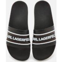 Karl Lagerfeld Men's Kondo Contrast Slide Sandals - Black - UK 9