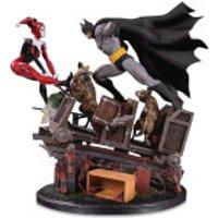 DC Collectibles DC Comics Batman Vs. Harley Quinn Second Edition Battle Statue