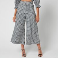 Faithfull the Brand Women's Lissandra Wide Leg Pants - Emelinah Check - S