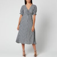 Faithfull the Brand Women's Amber Midi Dress - Emelinah Check - S