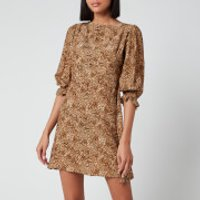 Faithfull the Brand Women's Fontane Mini Dress - Charlie Leopard - S