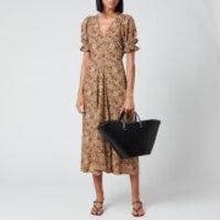 Faithfull the Brand Women's Maggie Midi Dress - Charlie Leopard - XS
