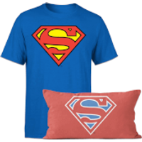 Superman T-Shirt And Cushion Bundle - Kids' - 9-10 Years