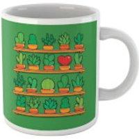 'Love Yourself Cactus Heart Mug