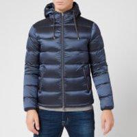 Herno Men's Resort Gloss Padded Jacket - Navy - IT 46/S
