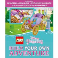 DK Books LEGO Disney Princess Build Your Own Adventure Hardback