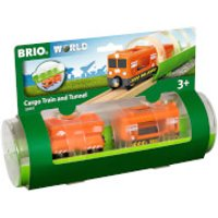 Brio Tunnel & Cargo Train