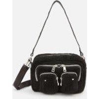 shop for Núnoo Women's Ellie Teddy Cross Body Bag - Black at Shopo