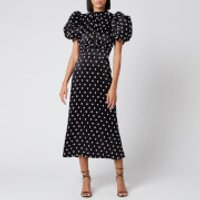 ROTATE Birger Christensen Women's Dawn Dress - Black - DK 36/UK 10