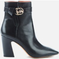 Coach Women's Teri Leather Heeled Boots - Black - UK 6