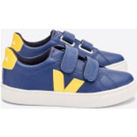 Veja Kids' Esplar Velcro Trainers - Cobalt/Tonic - UK 13.5 Kids
