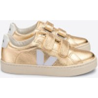 Veja Toddlers' Esplar Velcro Trainers - Platine - UK 7.5 Toddler
