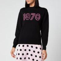 Bella Freud Women's 1970 Glow Jumper - Black/Pink - L