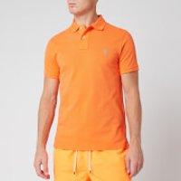 Polo Ralph Lauren Men's Slim Fit Mesh Polo Shirt - Orange Flash - L
