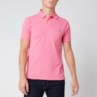 Polo Ralph Lauren Men's Slim Fit Mesh Polo Shirt - Pink - L