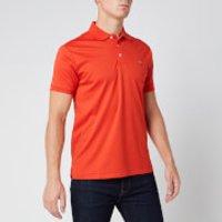 Polo Ralph Lauren Men's Slim Fit Pima Polo Shirt - Orangey Red - L