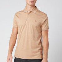 Polo Ralph Lauren Men's Slim Fit Pima Polo Shirt - Classic Camel Heather - S