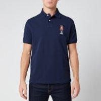 Polo Ralph Lauren Men's Custom Fit Haircut Bear Polo Shirt - Cruise Navy - L