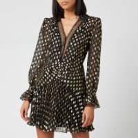 Self-Portrait Women's Dot Fil Coup Mini Dress - Black - UK 10