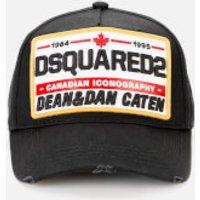 Dsquared2 Men's Patch Logo Cap - Black