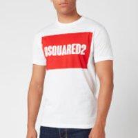 Dsquared2 Men's Cool Fit Box Logo T-Shirt - White - S