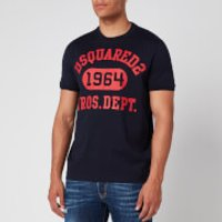 Dsquared2 Men's Tennis Fit Arch Logo T-Shirt - Blue - XL