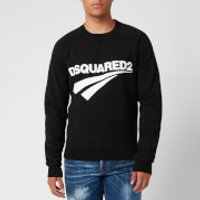 Dsquared2 Men's Raglan Fit Logo Sweatshirt - Black - XXL