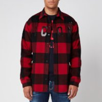 Dsquared2 Men's Checked Icon Shirt - Red - XL