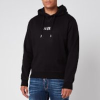 Dsquared2 Men's Cool Fit Centre Icon Logo Hoodie - Black - XL