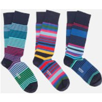PS Paul Smith Men's Mixed Pack Socks - Navy