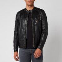 Belstaff Men's V Racer 2.0 Leather Jacket - Black - IT 52/XL