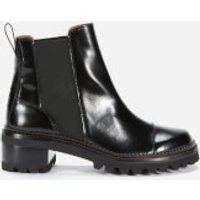 See-By-Chlo%c3%a9-Womens-Leather-Chelsea-Boots-Black-UK-8