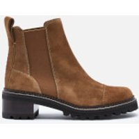 See by Chloe See By Chloé Women's Suede Chelsea Boots - Tan - UK 5